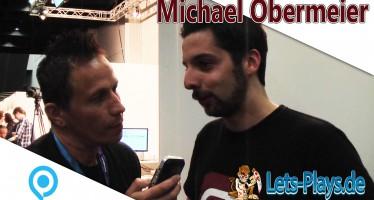 Gamescom 2015 – Michael Obermeier stellt sich unseren Fragen