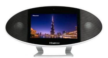 Tablet loves Sound. Das Hisense Portable Media Center