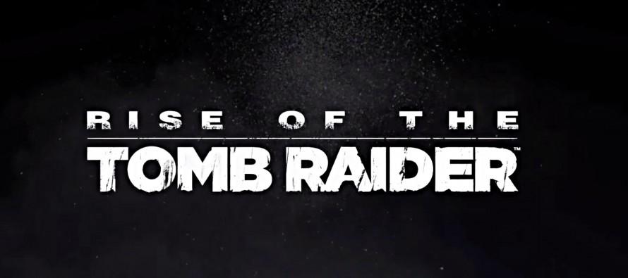 Rise of the Tomb Raider – Release für PC & Playstation 4 lässt auf sich warten
