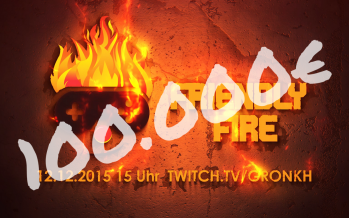 #FriendlyFire: Der Spendenstream mit Gronkh & co. war ein voller Erfolg!