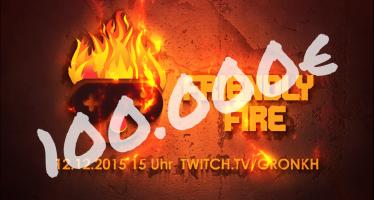 #FriendlyFire: Der Spendenstream mit Gronkh & co. war ein voller Erfolg!