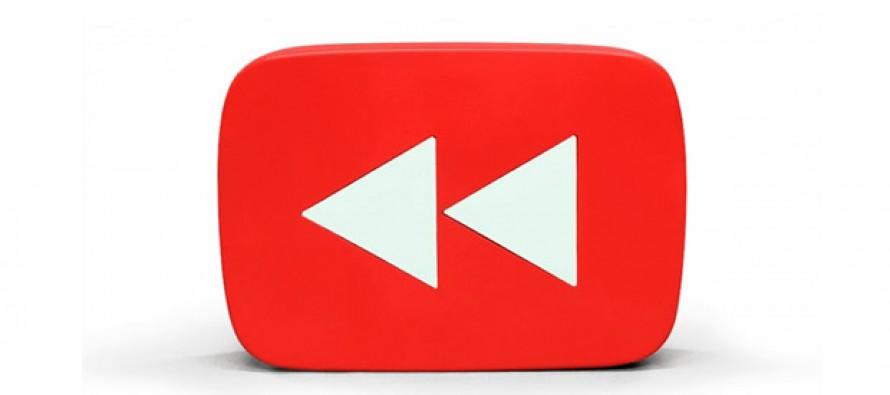 Und noch einer, der Youtube dieses Jahr rewinded!