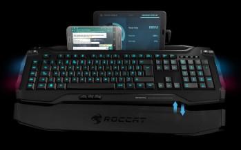 Roccat Skeltr mit Smartphone und Tablet Unterstützung