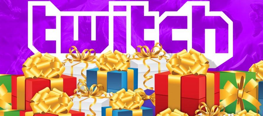 Twitch: Geschenke für Gamer um Mitternacht
