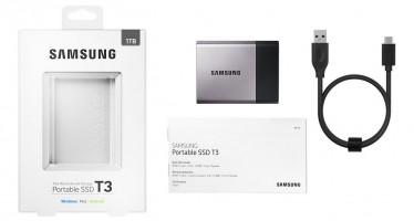 Samsung Portable SSD T3 angeschaut