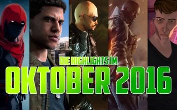 Oktober Highlights 2016! Battlefield 1, Titanfall 2 und viele mehr…