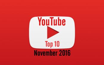 freekickerz, Gronkh & co. – YouTuber Insights November 2016